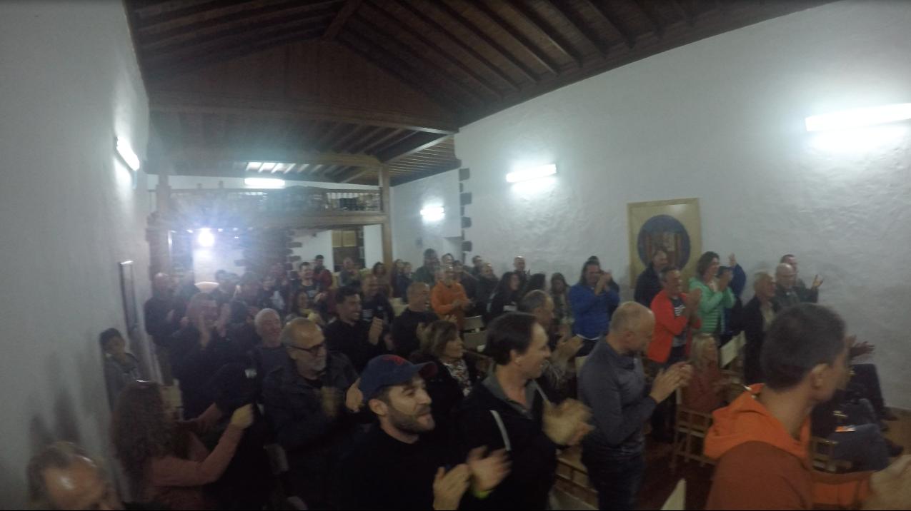 Público y pilotos XXIII Abierto Internacional de Ala Delta y el Campeonato de Canarias 2019