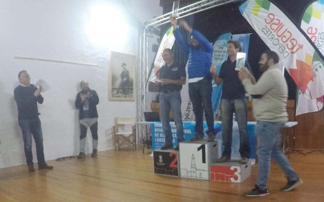 Campeones de Canarias de ala delta 2019