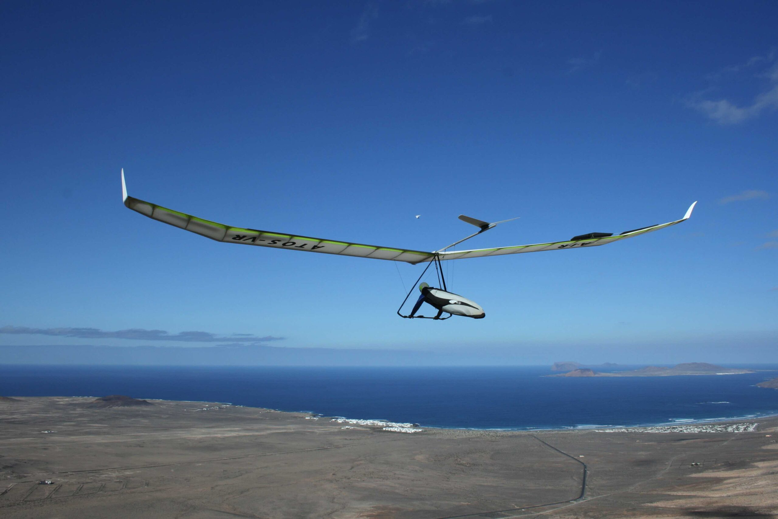 Ala delta Lanzarote Hang gliding