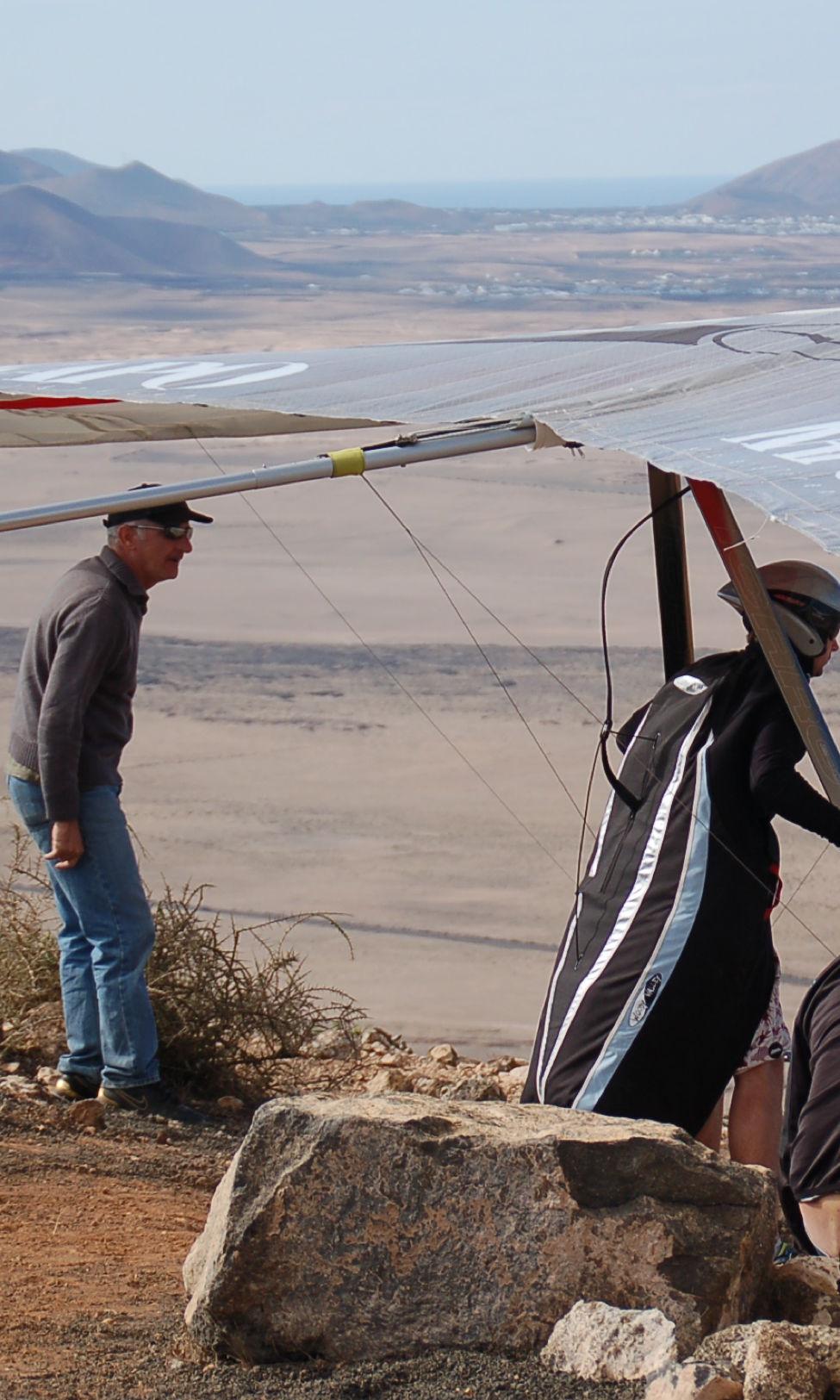 Ala delta Lanzarote, aprende a volar en ala delta