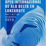 Cartel XXIII Abierto Internacional de Ala Delta y el Campeonato de Canarias 2019
