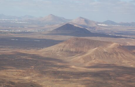 Hang gliding in Lanzarote