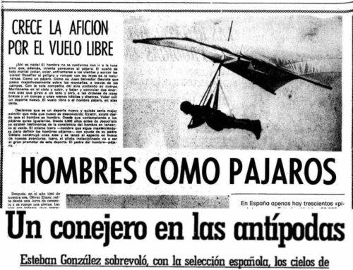 La evolución del deporte de ala delta en Lanzarote desde 1981