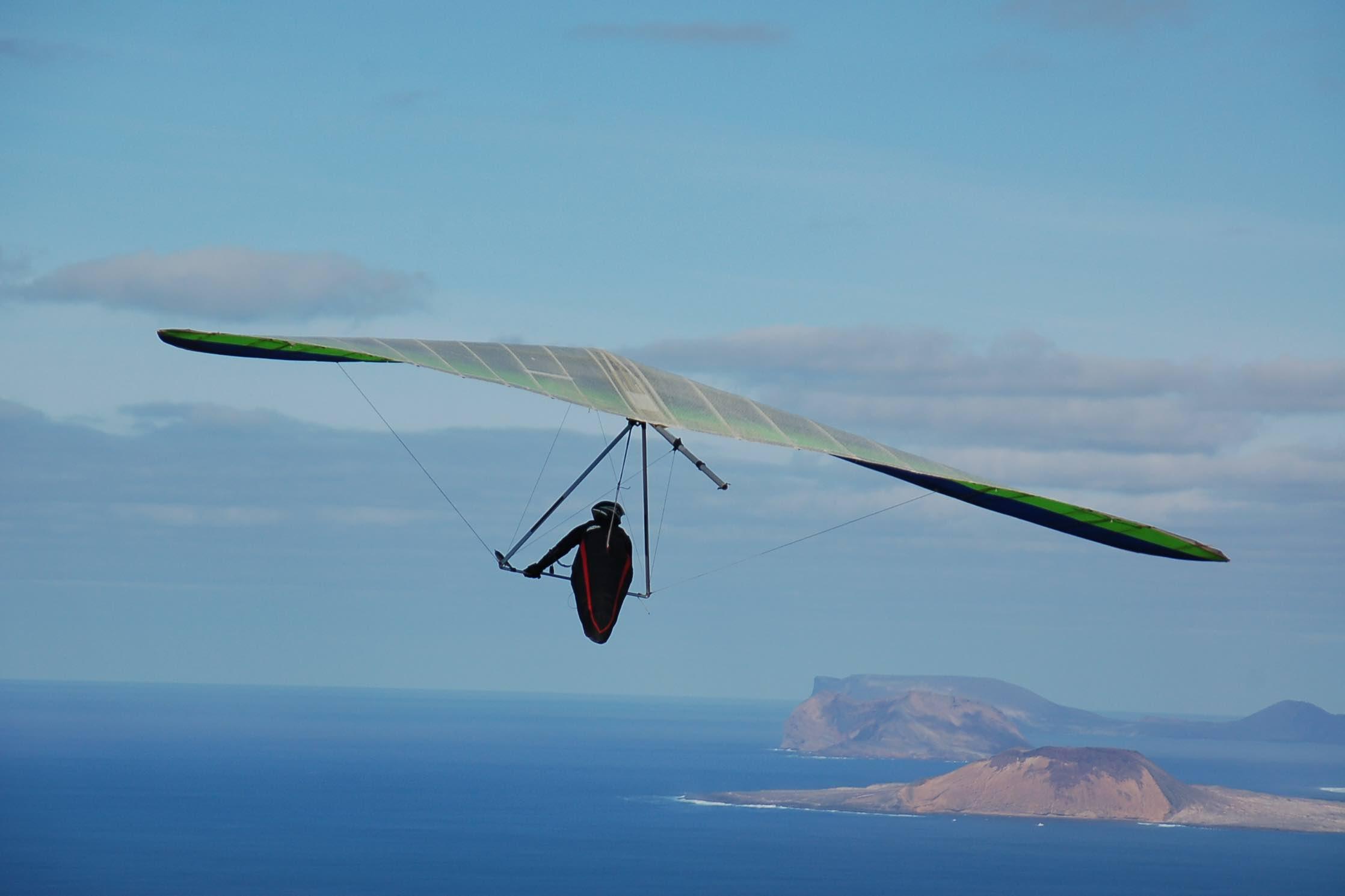 Lanzarote Hang gliding Paradise