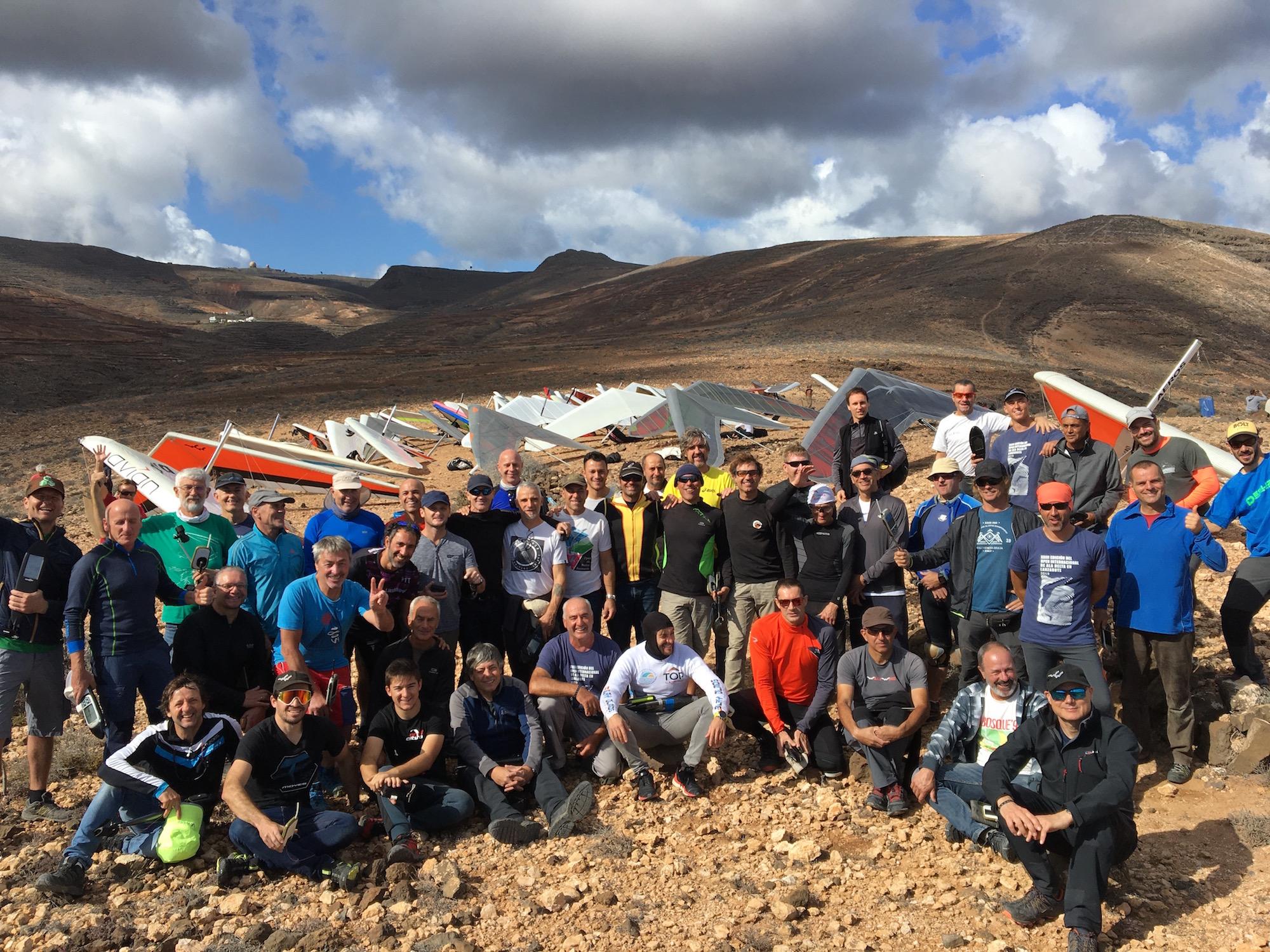 Pilotos 1 - XXIII Abierto Internacional de Ala Delta y el Campeonato de Canarias 2019