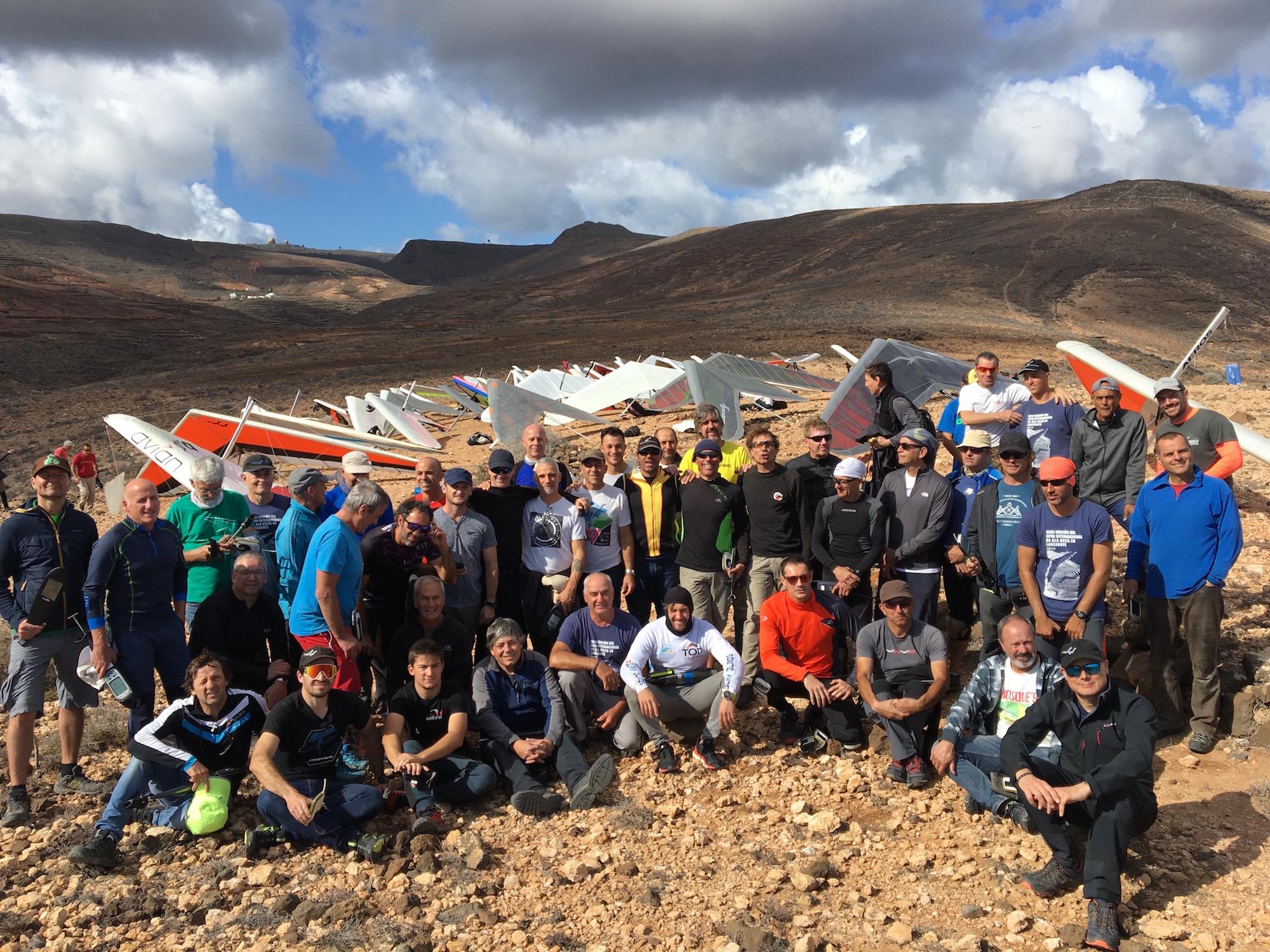 Pilotos 2 - XXIII Abierto Internacional de Ala Delta y el Campeonato de Canarias 2019