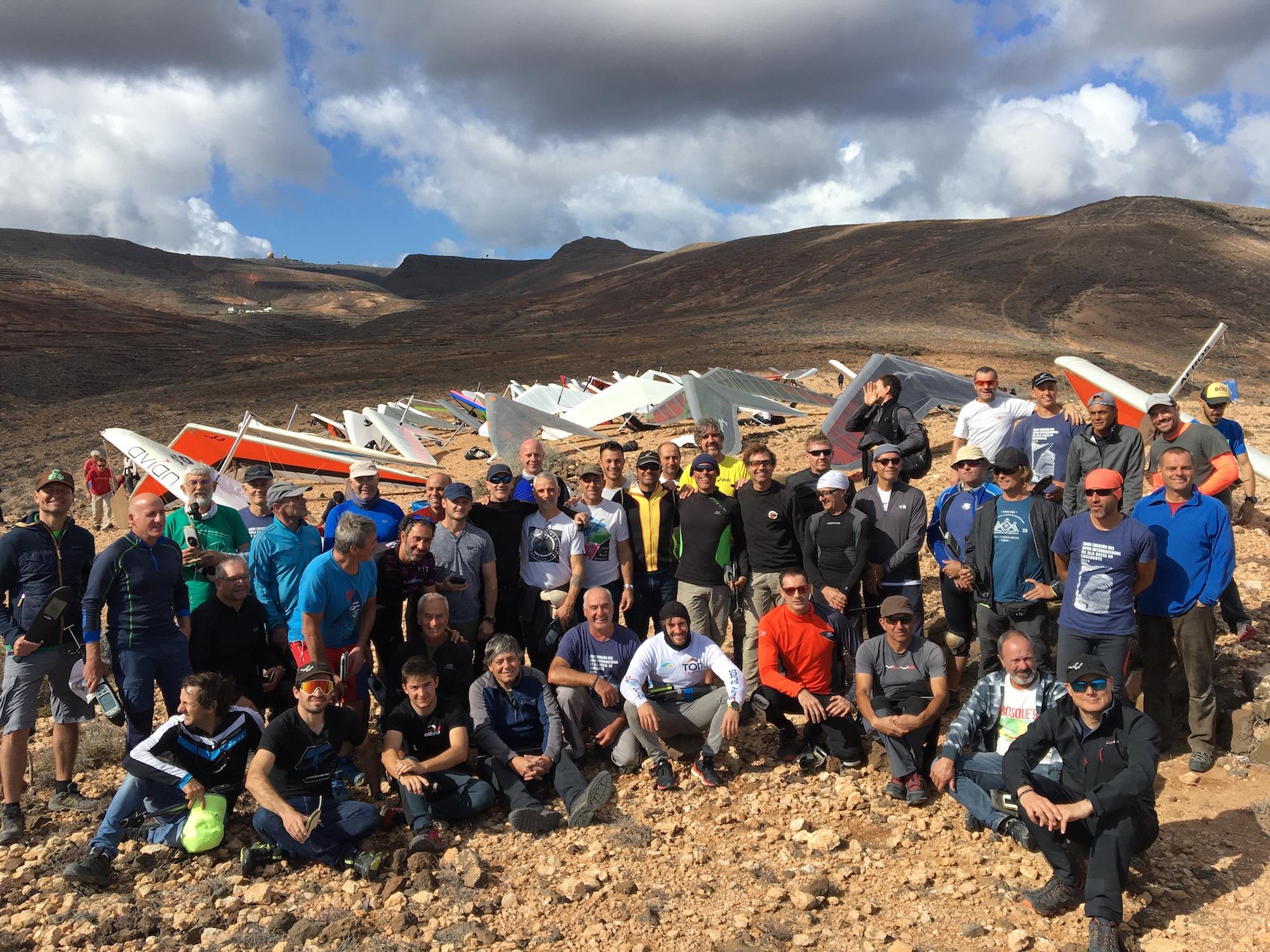 Pilotos 3 - XXIII Abierto Internacional de Ala Delta y el Campeonato de Canarias 2019