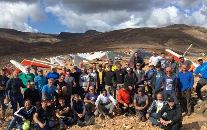 Pilotos XXIII Abierto Internacional de Ala Delta y el Campeonato de Canarias 2019