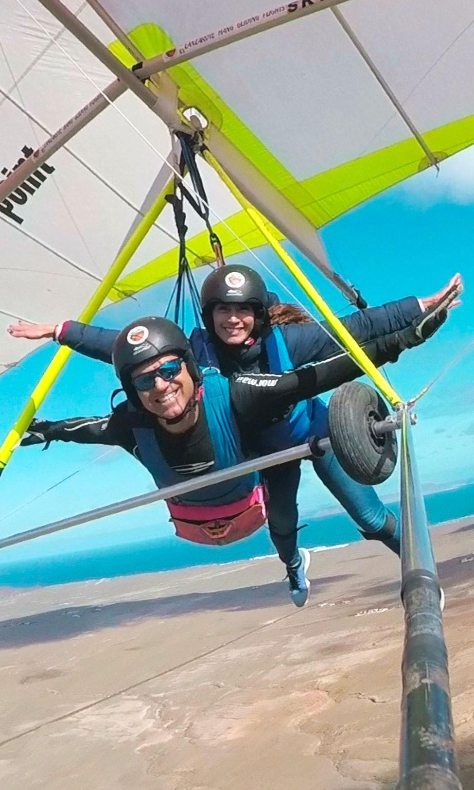 Hang Gliding Tandem Biplaza Ala Delta Lanzarote